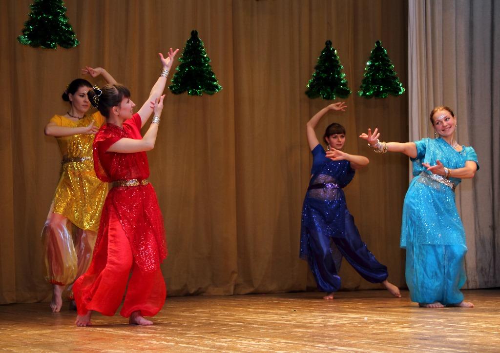 Индийский танец в Ярославле